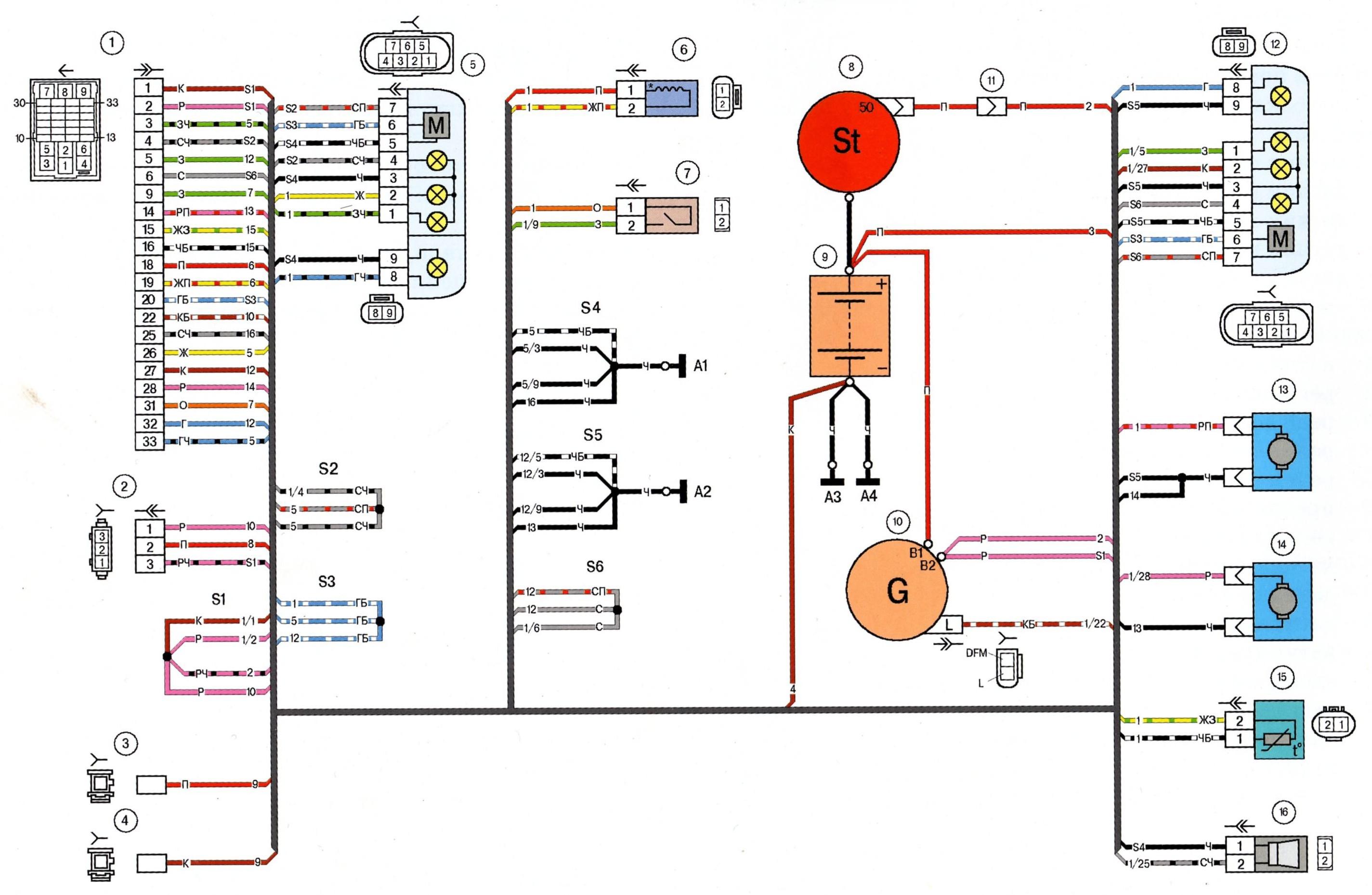 Электрическая схема пресса модели п474а  Принципиальные схемы