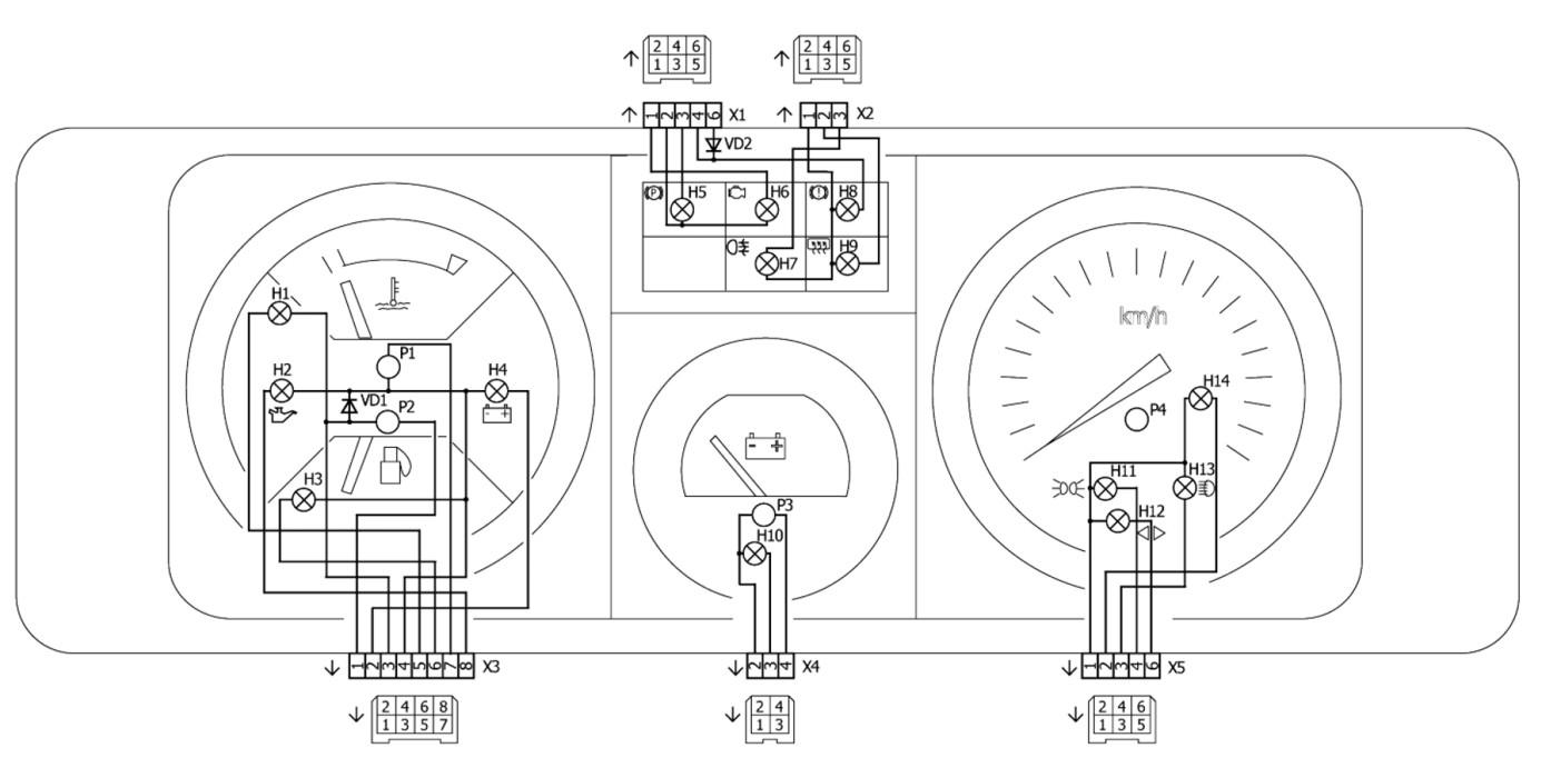 схема блока двигателя toyata 1g-gze